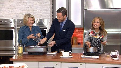 Martha Stewart, Giada Share Top Turkey Recipes