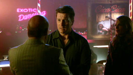 Castle Introduces His Wife