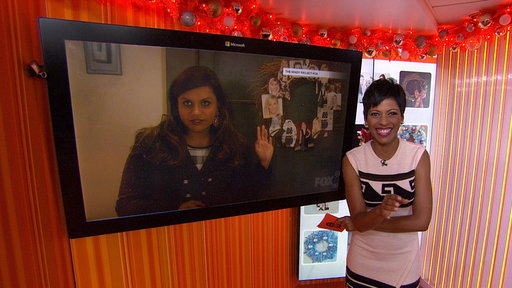 Mindy Kaling's 'Wreath Witherspoon' Stunt Goes Viral