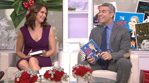 Brooke Shields, Andy Cohen Share Favorite Books