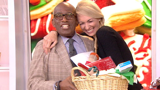 Cookie Contestant Celebrates Win by Kissing Al Roker