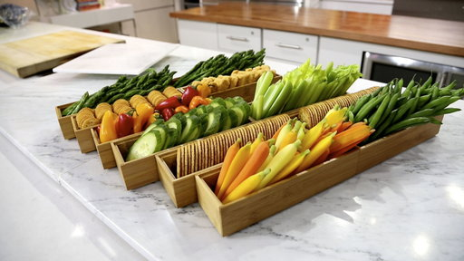 Turn Raw Veggies Into This Delicious Vegetable Garden