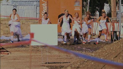 Wedding Dress Mud Fest