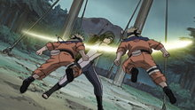 Naruto 105: A Fierce Battle of Rolling Thunder!