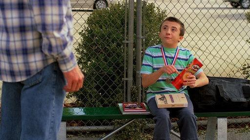 Brick's First Tennis Lesson