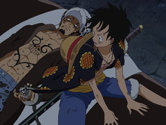(Sub) A Desperate Situation! Luffy Gets Caught in a Trap! image
