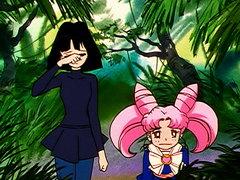 (Sub) Battle Inside the Demonic Space: The Sailor Guardians' Gamble image