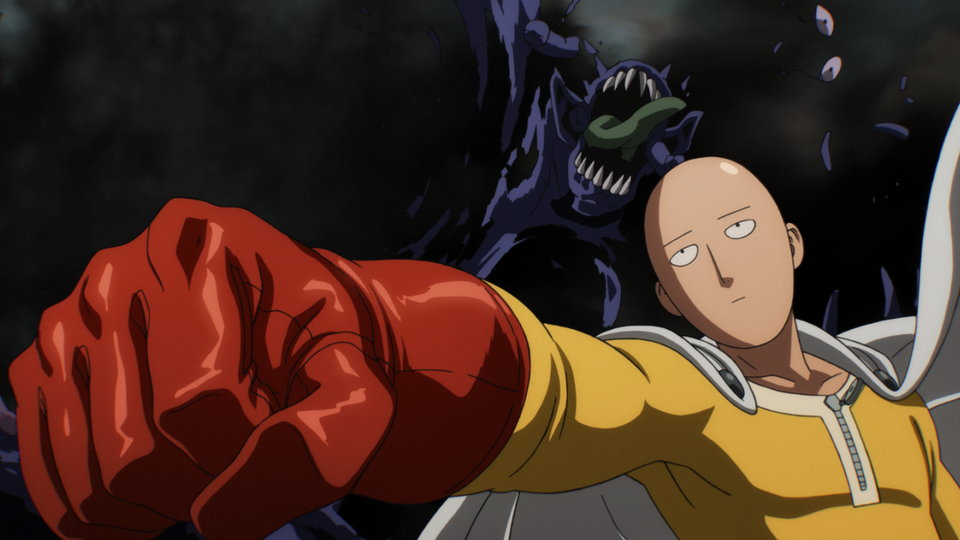 Image result for one punch man episode 1