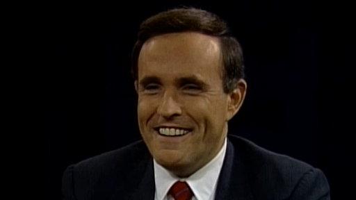 Politicians: January 4, 1982 Rudy Giuliani