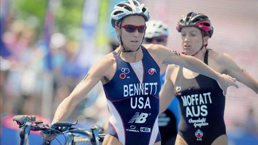 Triathlon: Laura Bennett
