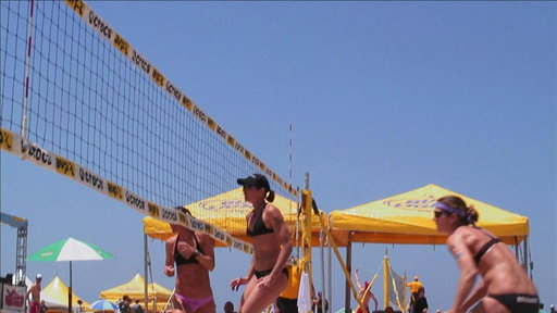 Beach Volleyball: Youngs and Branagh