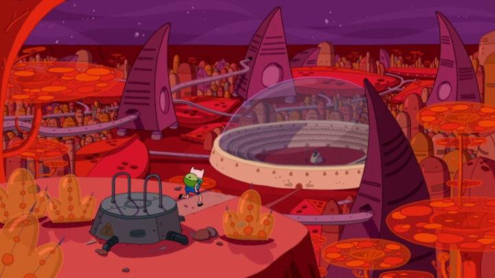 Watch Adventure Time Season 4 Episode 15: Sons of Mars on Cartoon